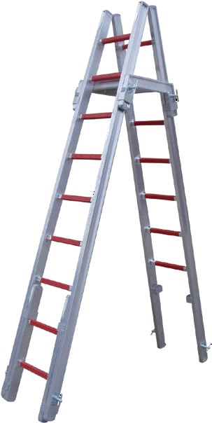 Nasúvací sekcionárny hasičský rebrík