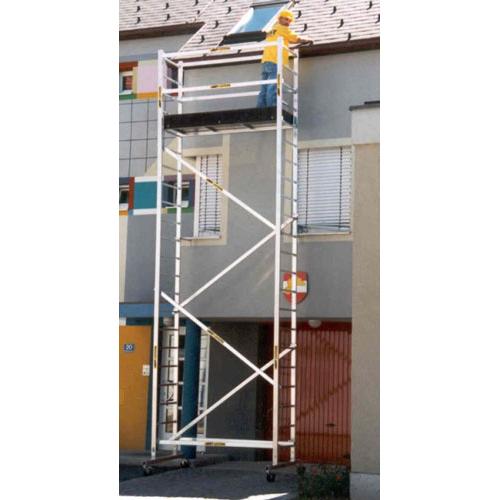 Rebríkové lešenie pojazdné - hliníkové  Allimpex