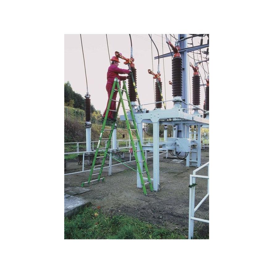 dvojitý laminátový rebrík - Allimpex