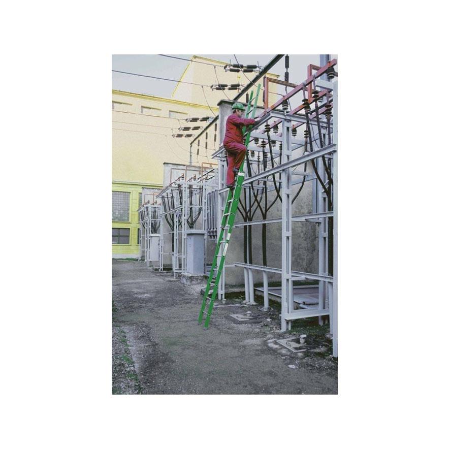 Výsuvný laminátový rebrík dvojdielny 5220-5250 |Allimpex