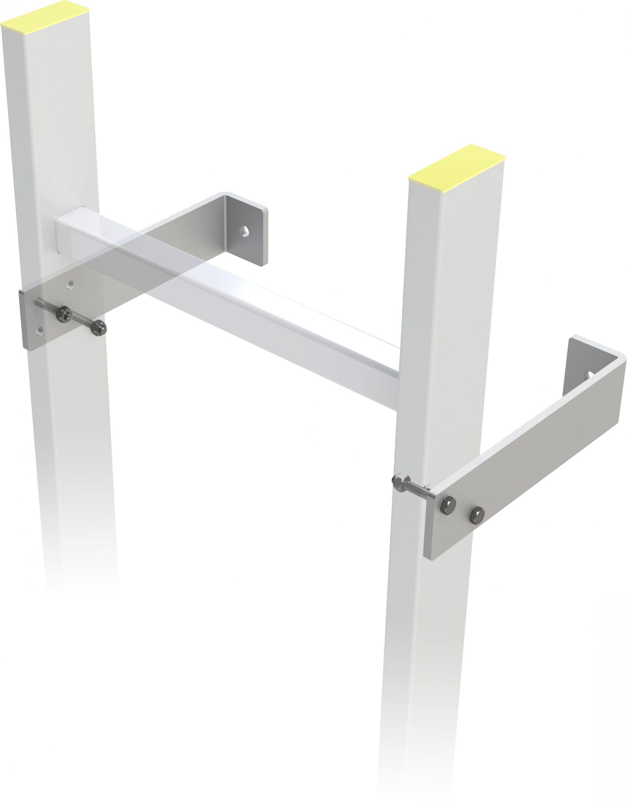 L konzola pre šachtový rebrík