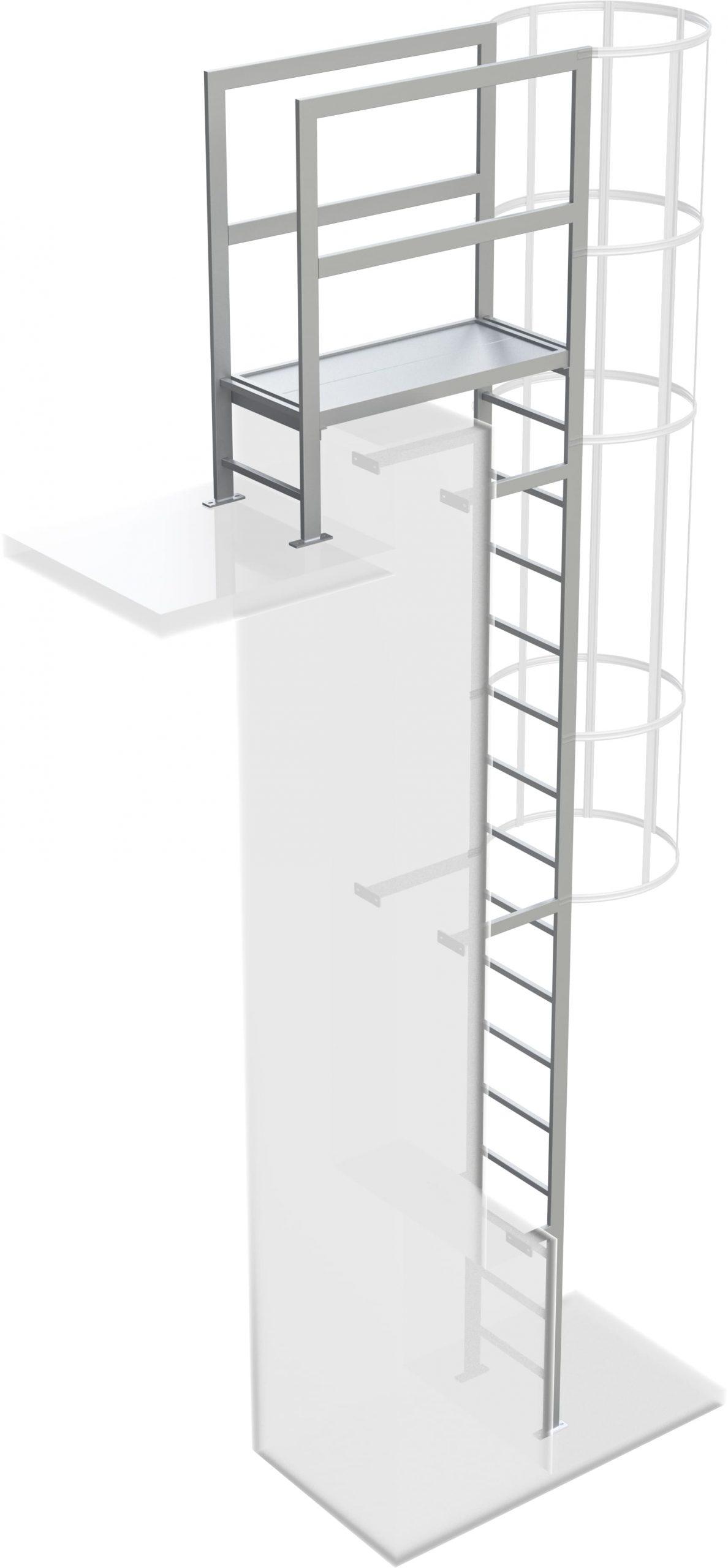 prestup atiky na výstupovom rebrku na budove
