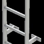 šachtový rebrík ťažké prevedenie 60-401
