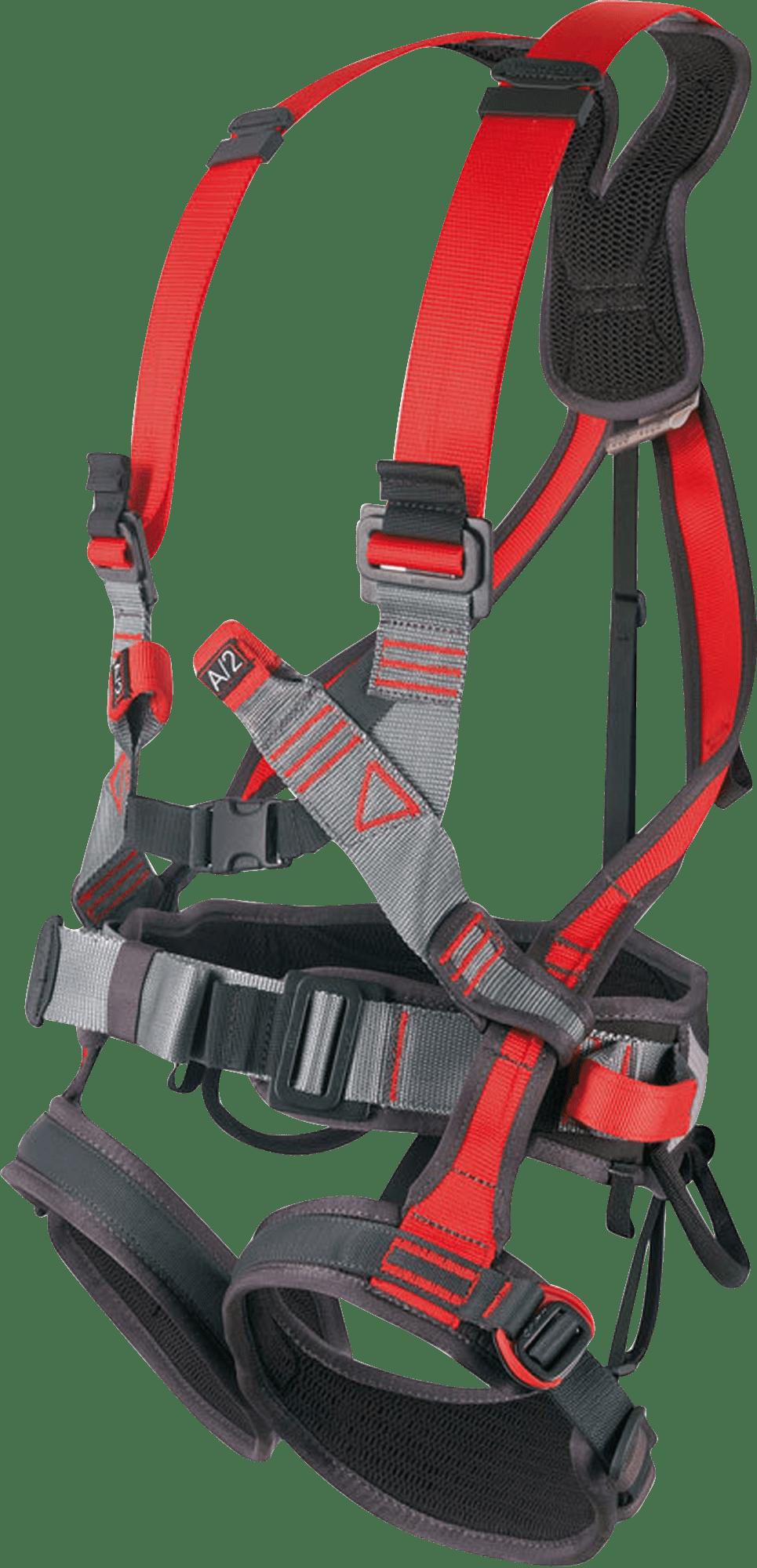 postroj - popruh pádovej ochrany na rebrík