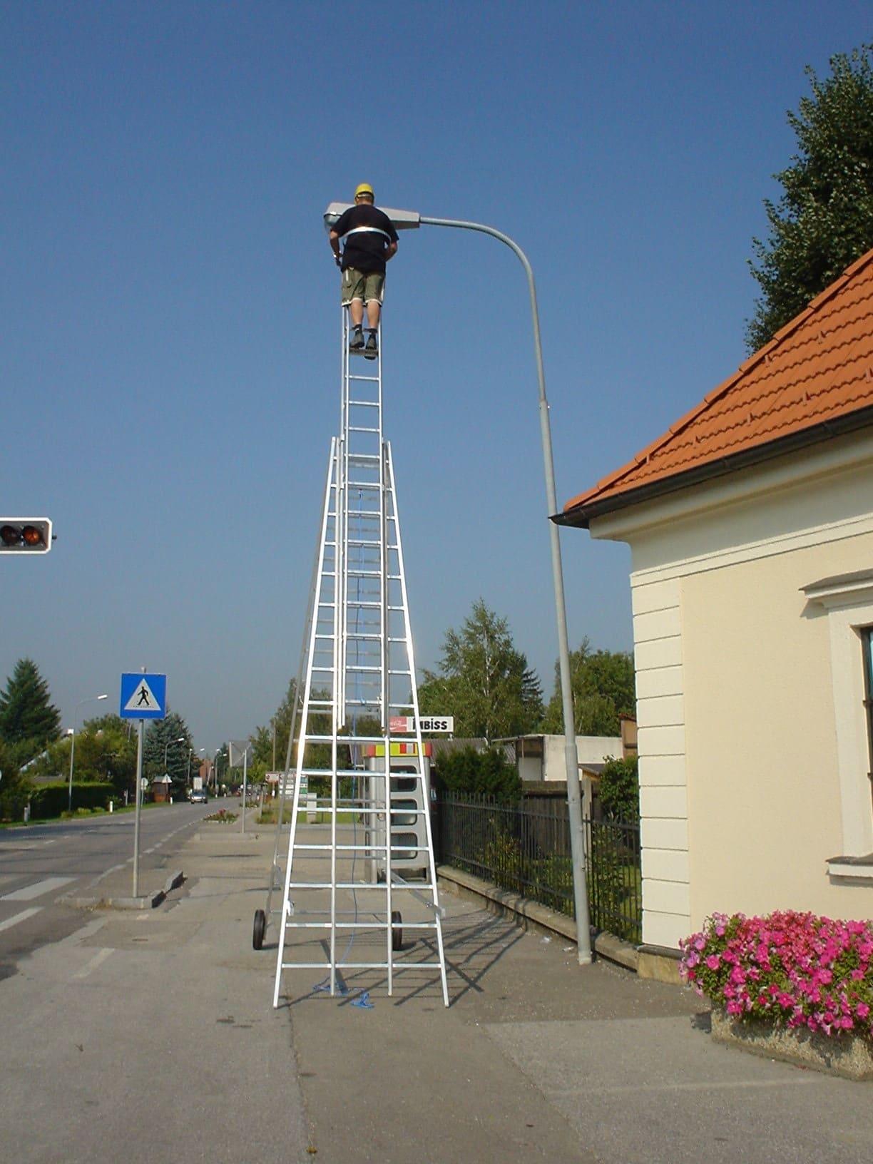 montážny rebrík typ 62