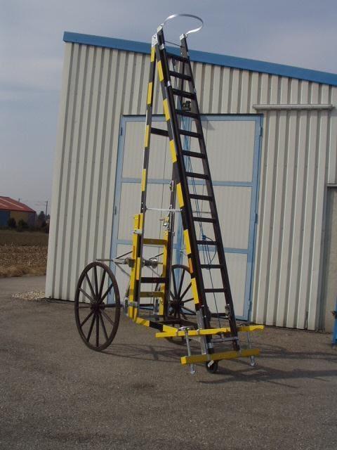 pojazdný rebrík typ 64
