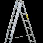 viacúčelový trojdielny hasičský rebrík F-507