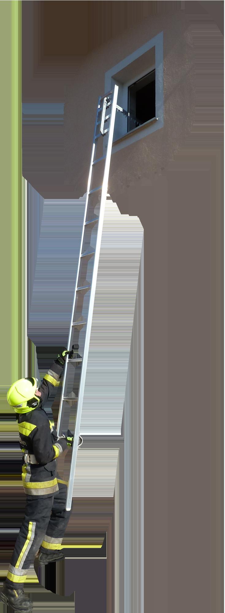 FEG-110 hákovací hasičský rebrík