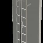 systém pádovej ochrany na rebrík