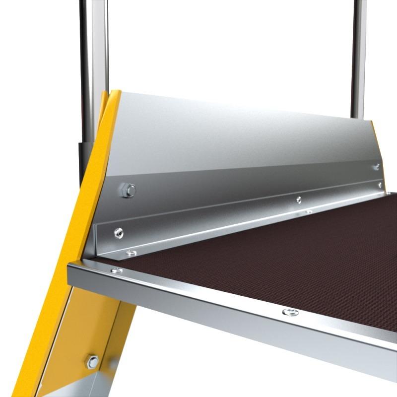 obojstranný mostík detail plošiny