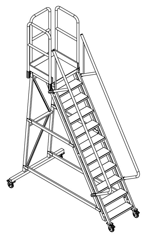 pojazdné schody 76-,011