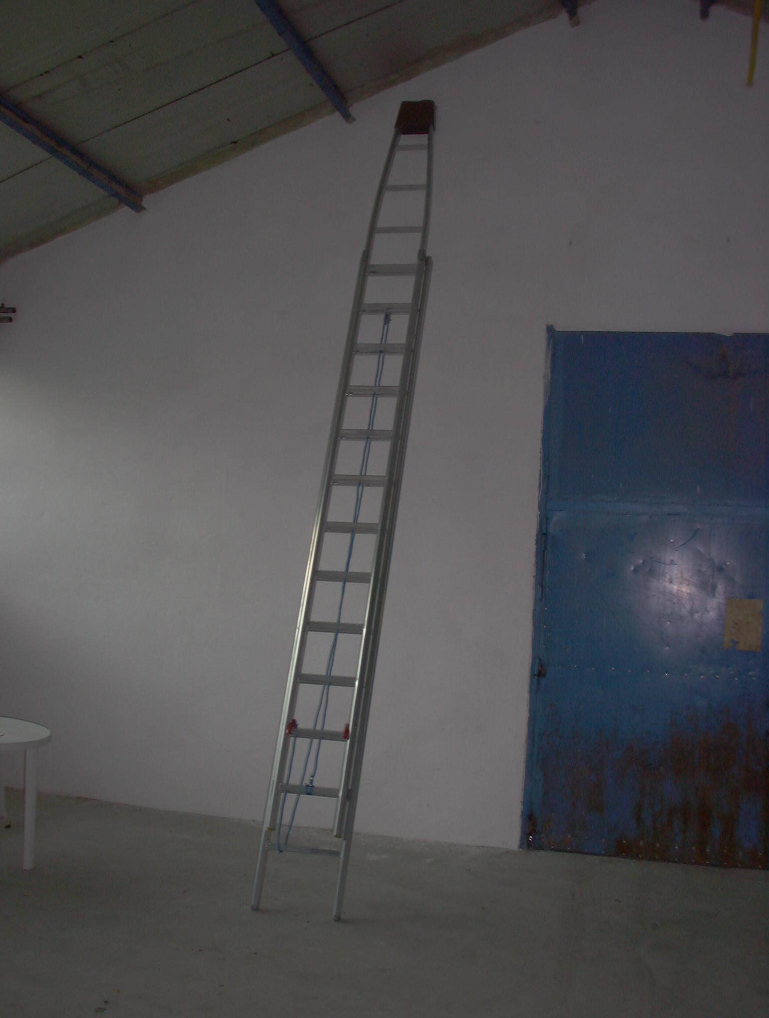 Rebríky na čistenie okien 34