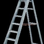 plošinkový profesionály priemyslený rebrík hliníkový