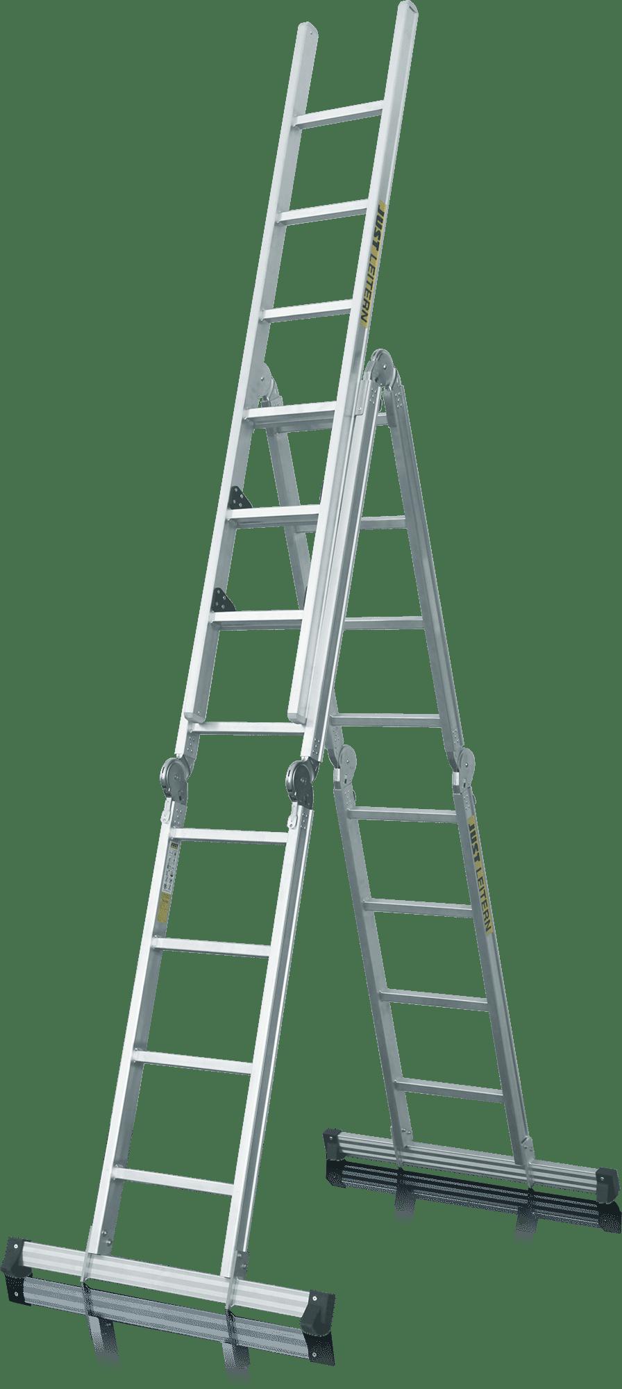 kĺbový rebrík mnohoúčelový profesionálny zváraný s prídavným dielom