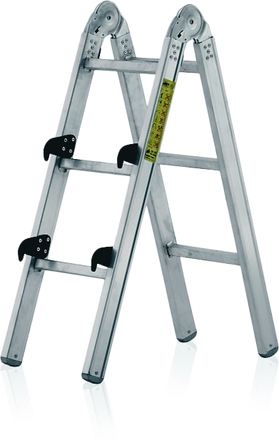 kĺbový rebrík mnohoúčelový profesionálny zváraný - prídavný diel