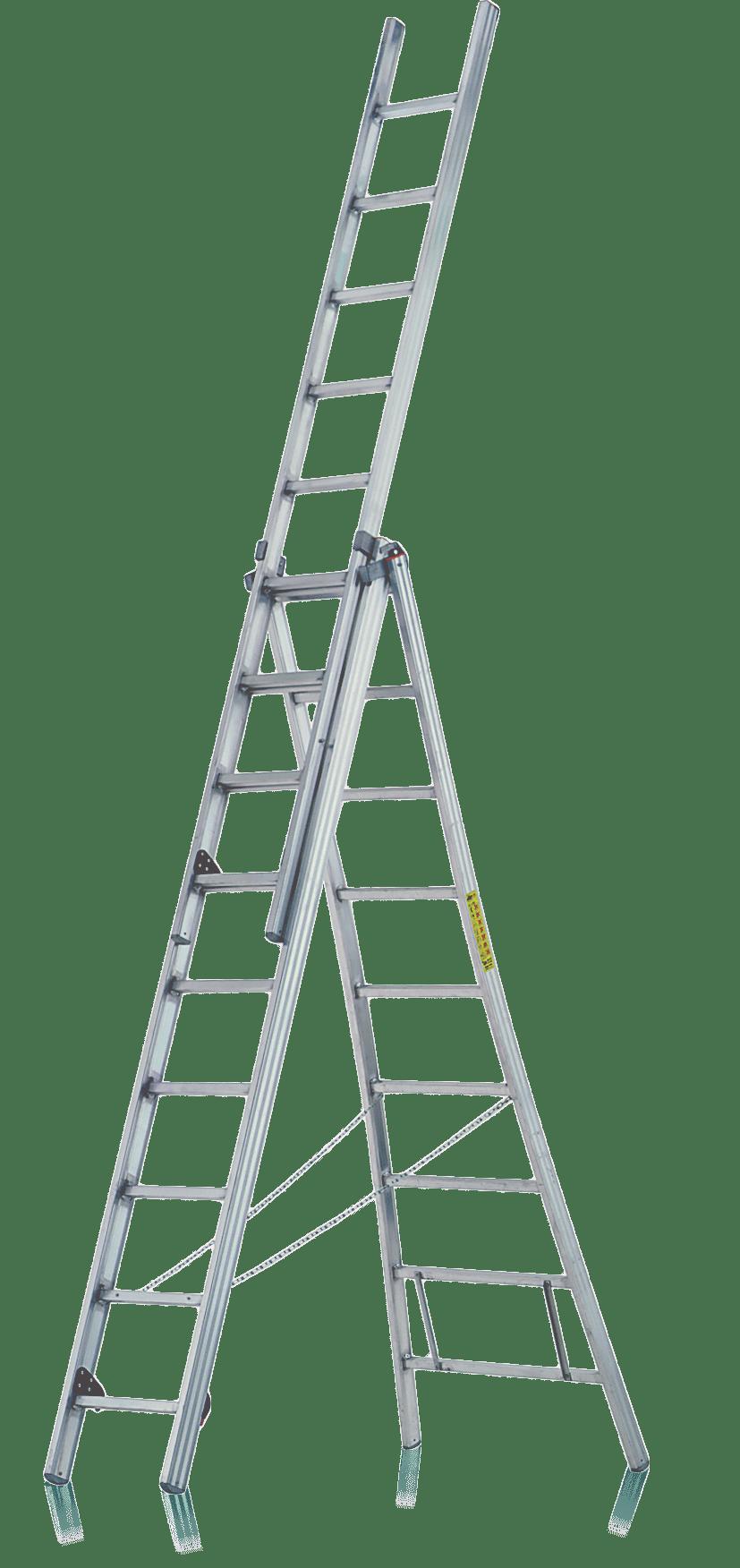trojdielny rebrík viacúčelový R500