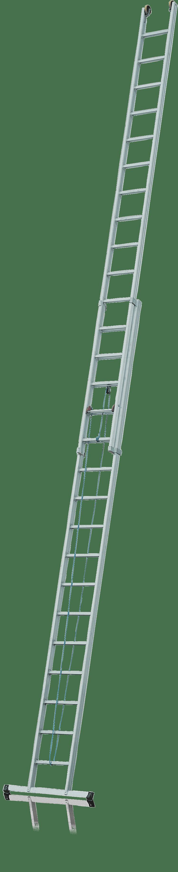 Dvojdielny lanoťahový rebrík Typ R620