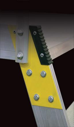 mostík jednostranný detail