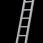 Hliníkový rebrík rovný zváraný typ Industrie 50