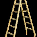 drevený rebrík dvojitý štafle