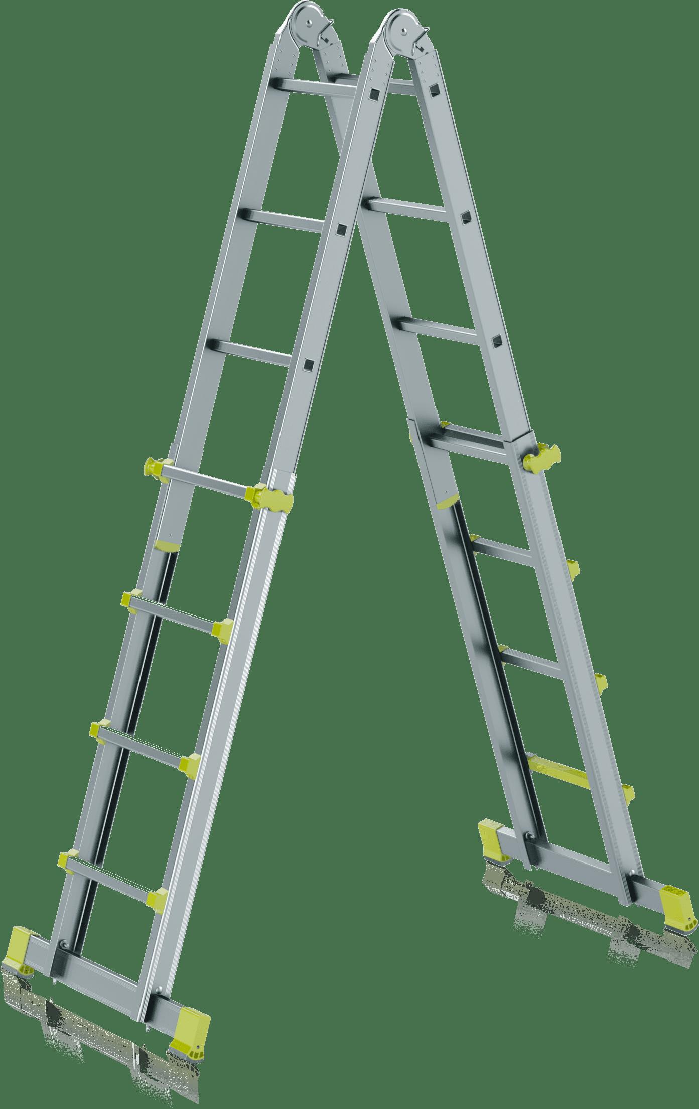teleskopický profesionálny rebrík