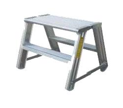 Hliníkové schodíky/pracovná plošina Typ 58-200