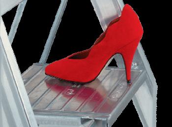plošinka nášľapná pre rebrík