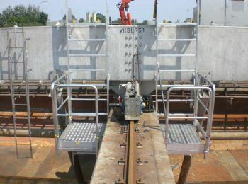 Servisná hliníková plošina