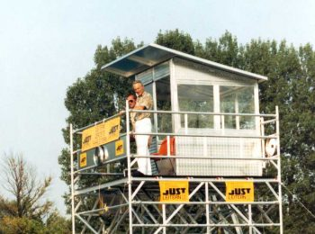 Rozhodcovská veža - majstrovstvá vo veslovaní