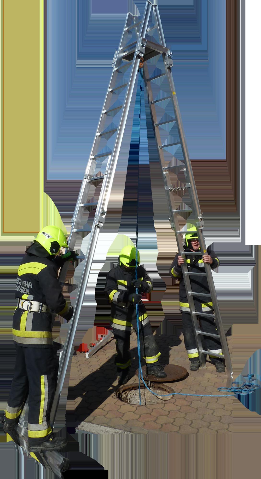 hasičský rebrík F-105