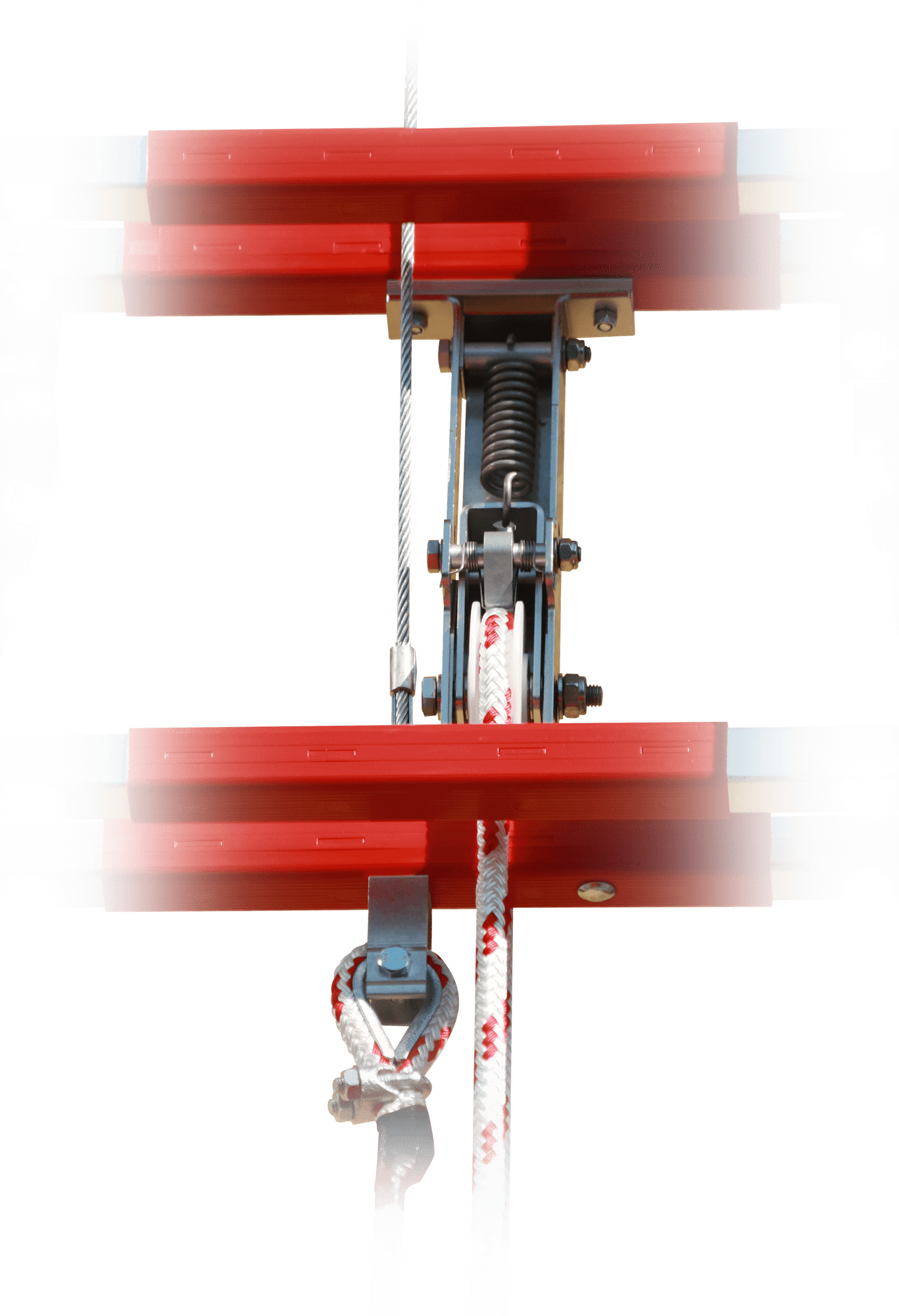 hasičský rebrík detail