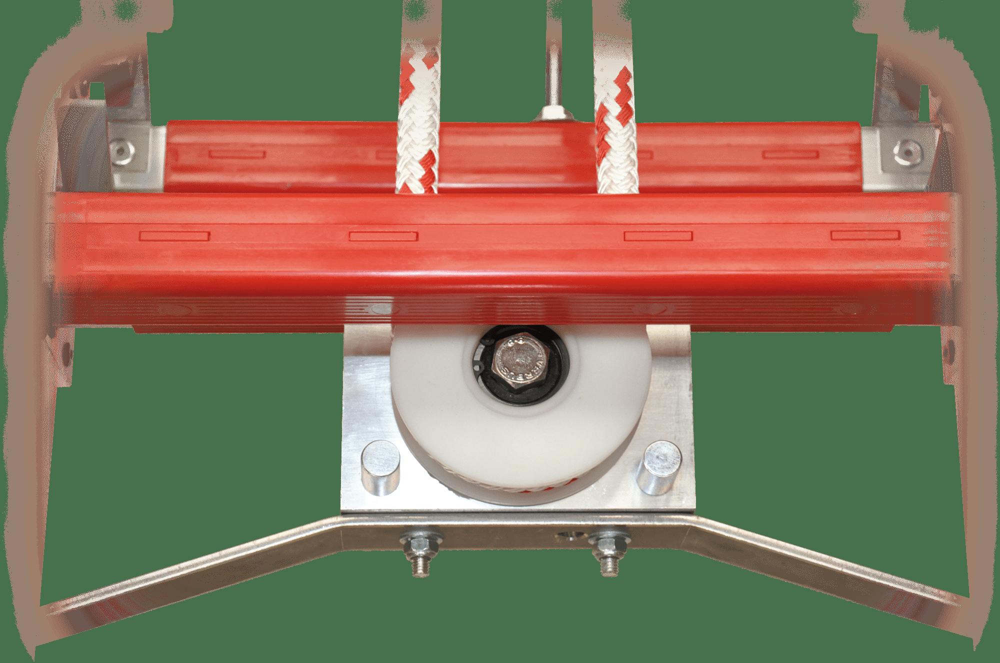 hasičský rebrík kladka