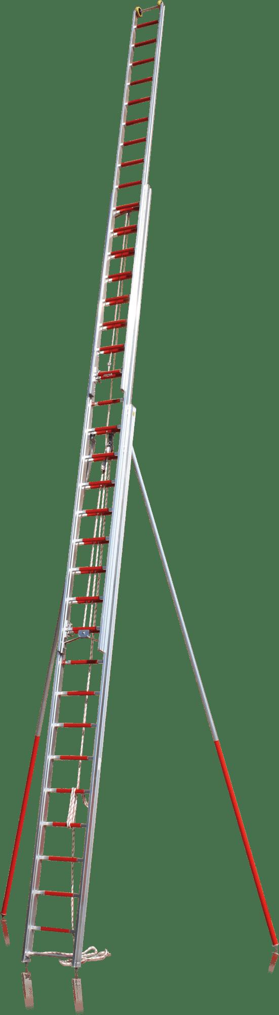 Výsuvný rebrík trojdielny FD-717