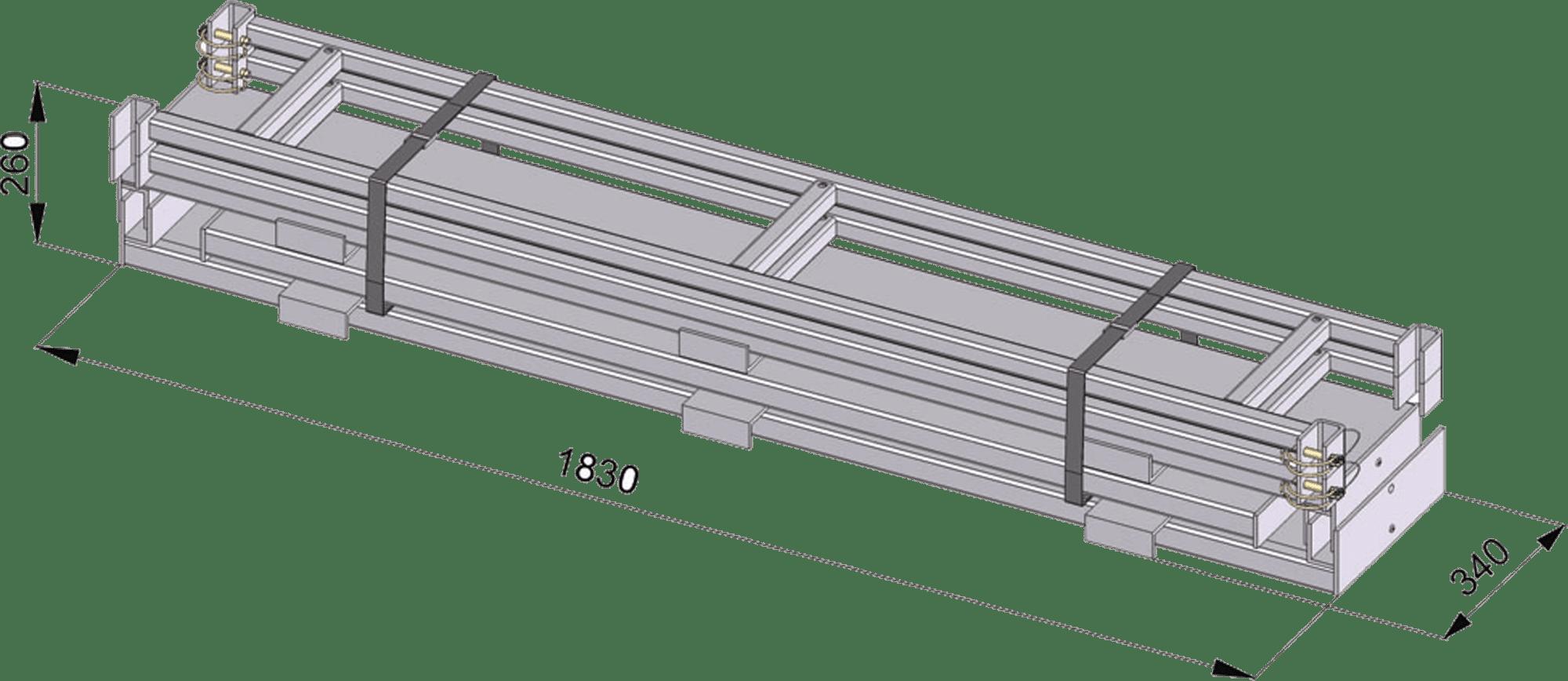 záchranná hasičská plošina trucksawer