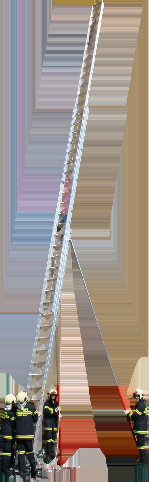 Trojdielne hasičské rebríky výsuvné FO-717 a FO-719