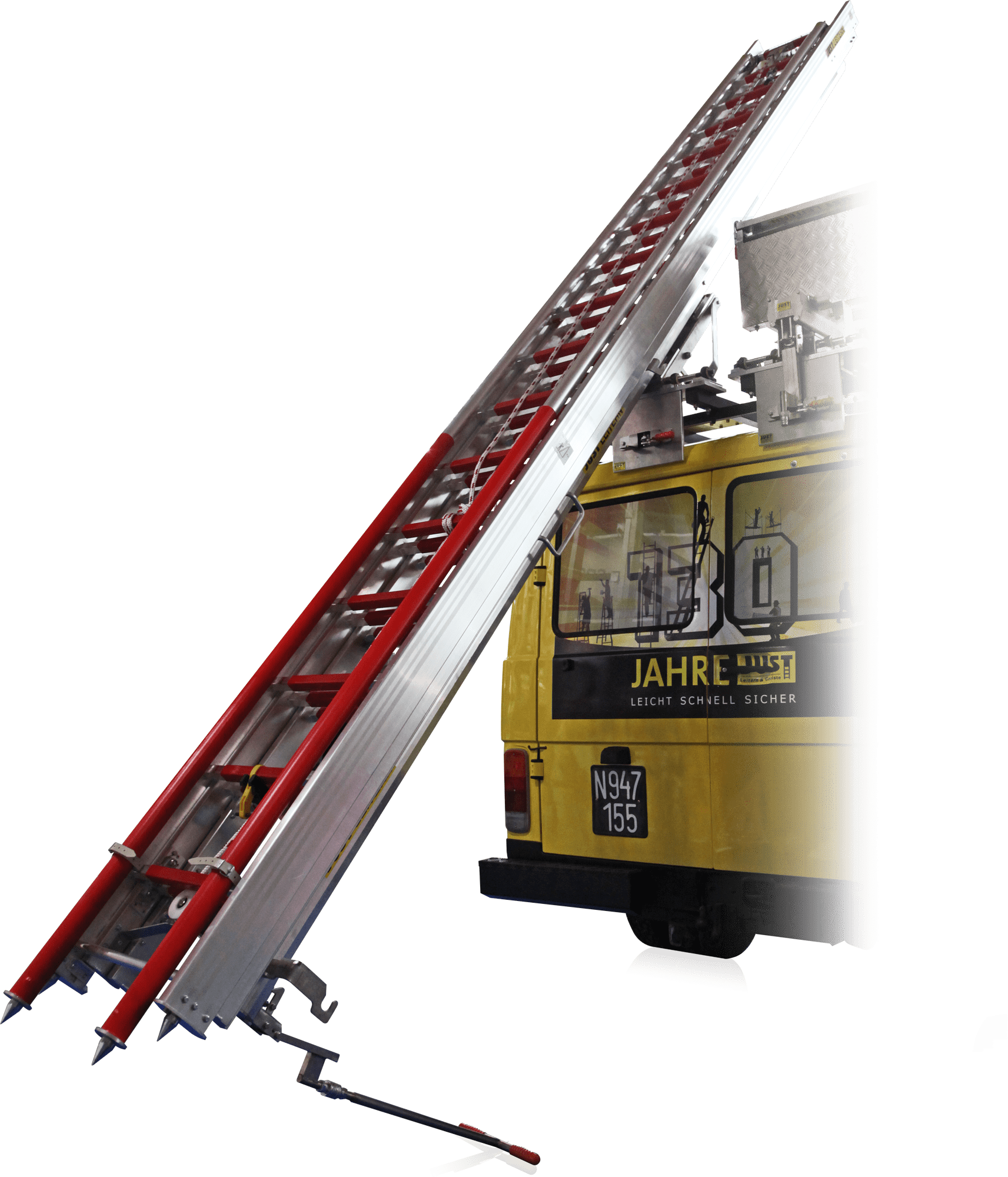 Gantry žeriav pre rebrík bez stabilizátora GT-100