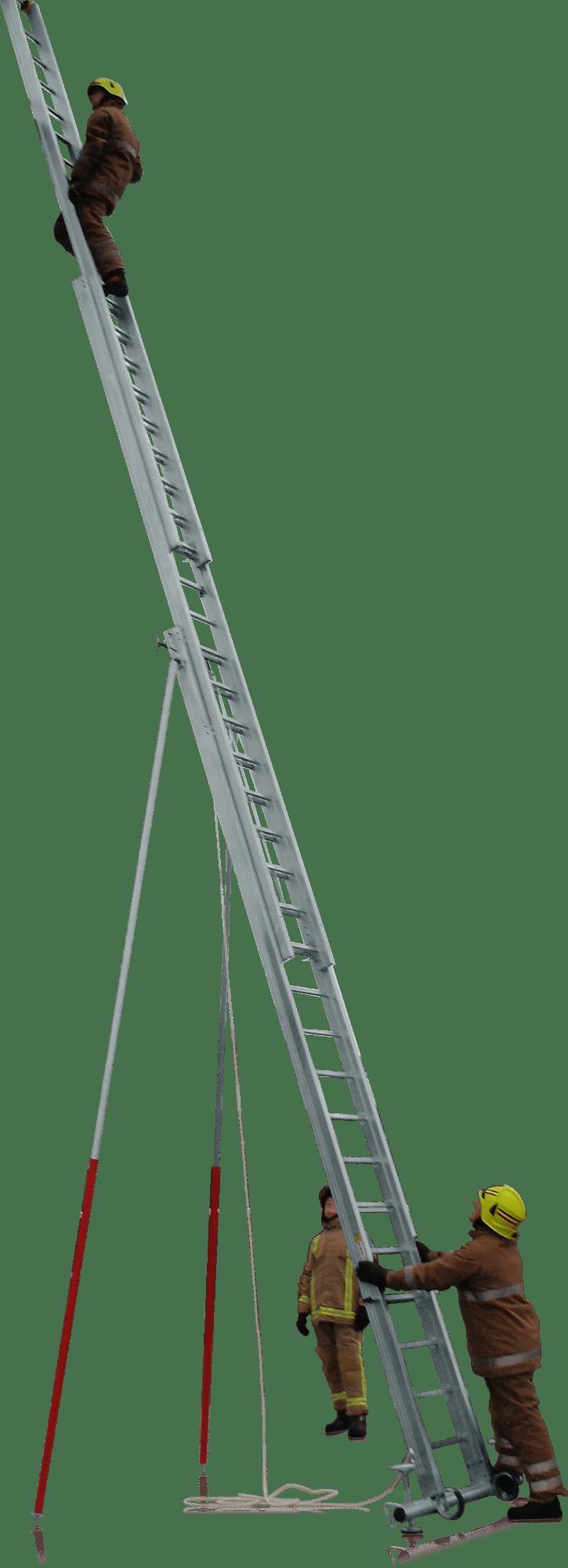 Výsuvný rebrík 3-dielny s lanoťahom UK-TE