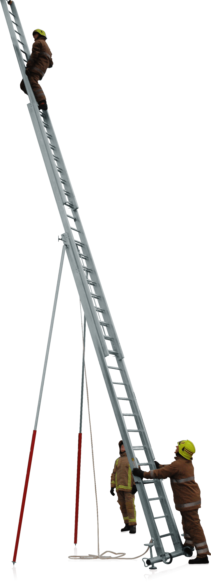 Výsuvný rebrík 3 dielny bez lanoťahu UK-TEP