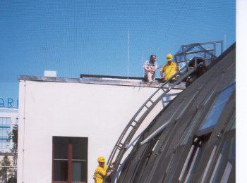 Premostenie oblúkovej strechy