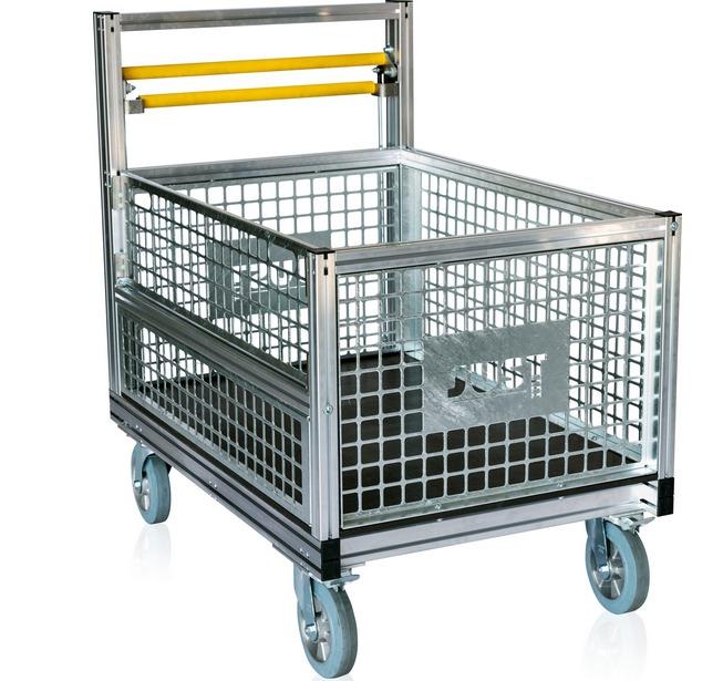 Prepravný vozík – kontajnerový box 79-103